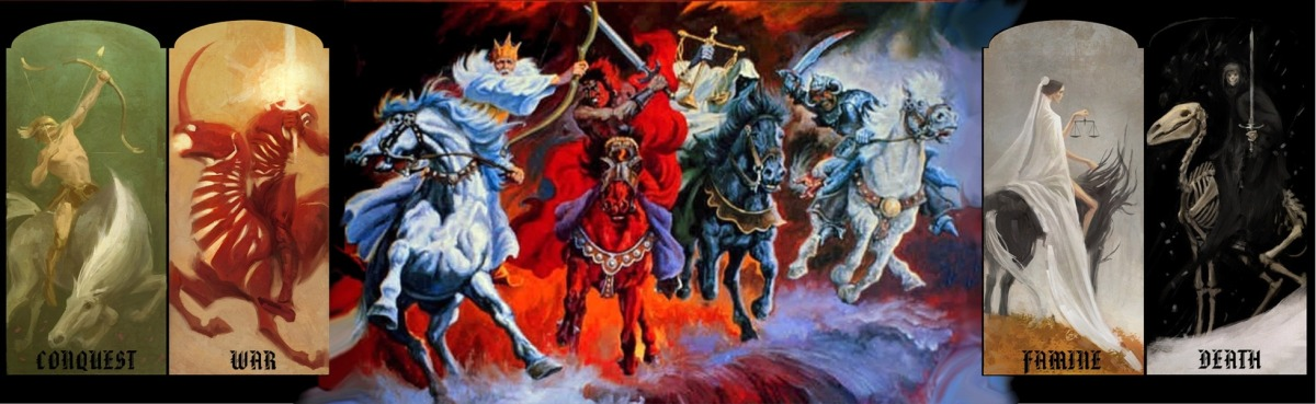 """Revelation 6: The """"REAL"""" 4 Horseman of the Apocalypse and the First"""