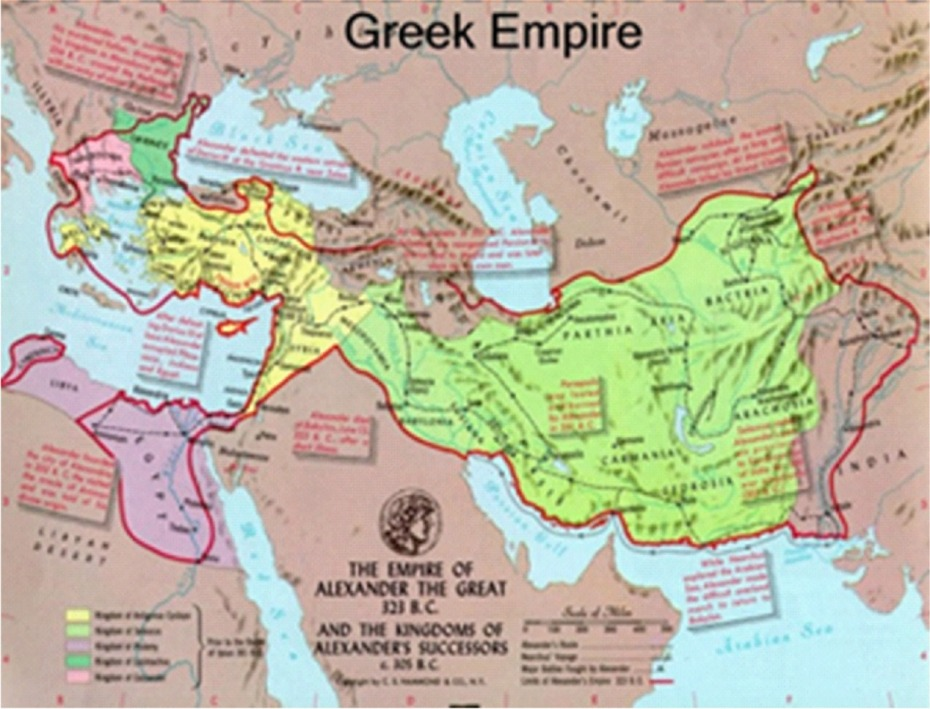 Greek Empire X
