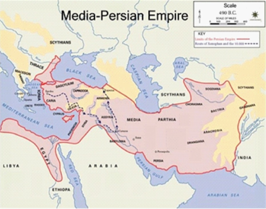 Media Persian Empire X