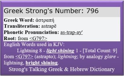 Strongs Lightning 796